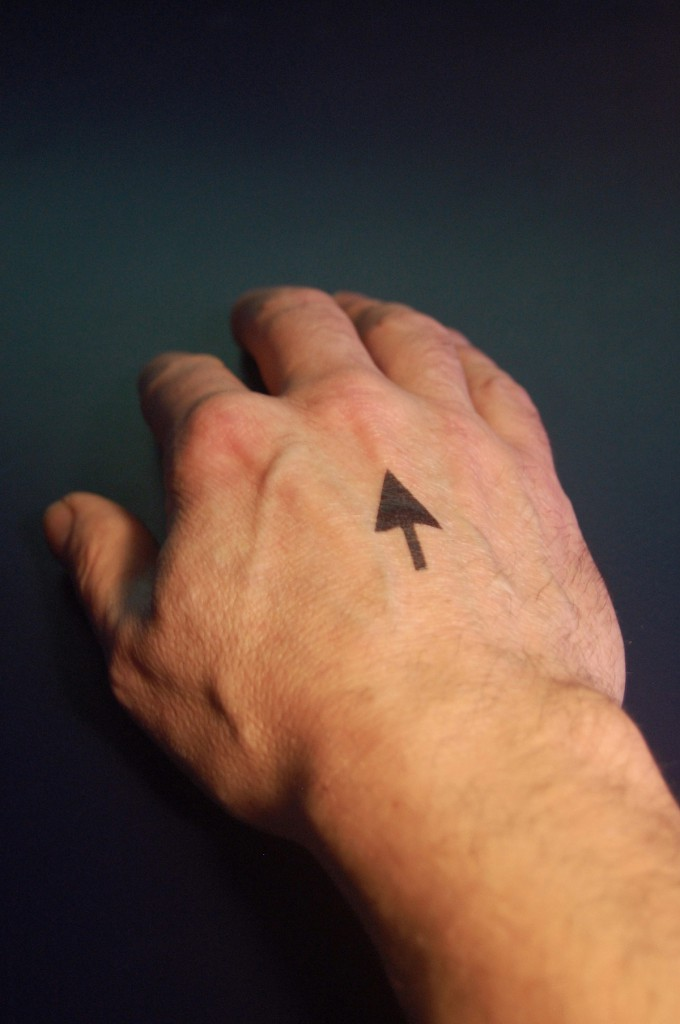 Untitled (Hand with Arrow) - 2013